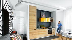 35-metrowe mieszkanie Kasi i Marcina - z kawalerki wyczarowali komfortowe dwa pokoje