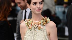 """Hathaway i Cotillard na premierze filmu """"Mroczny rycerz powstaje"""""""