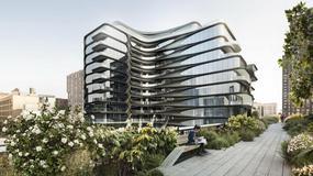 Ten luksusowy apartamentowiec na Manhattanie to jeden z ostatnich projektów Zahy Hadid [GALERIA]