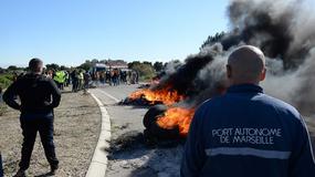 Francja: policja przełamała strajk w rafinerii