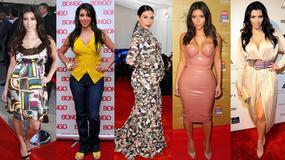 Kim Kardashian i jej koszmarne stylizacje