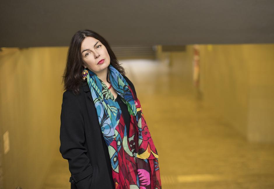 """Ewa Winnicka, autorka książki """"Milionerka""""/fot. Krzysztof Dubiel"""