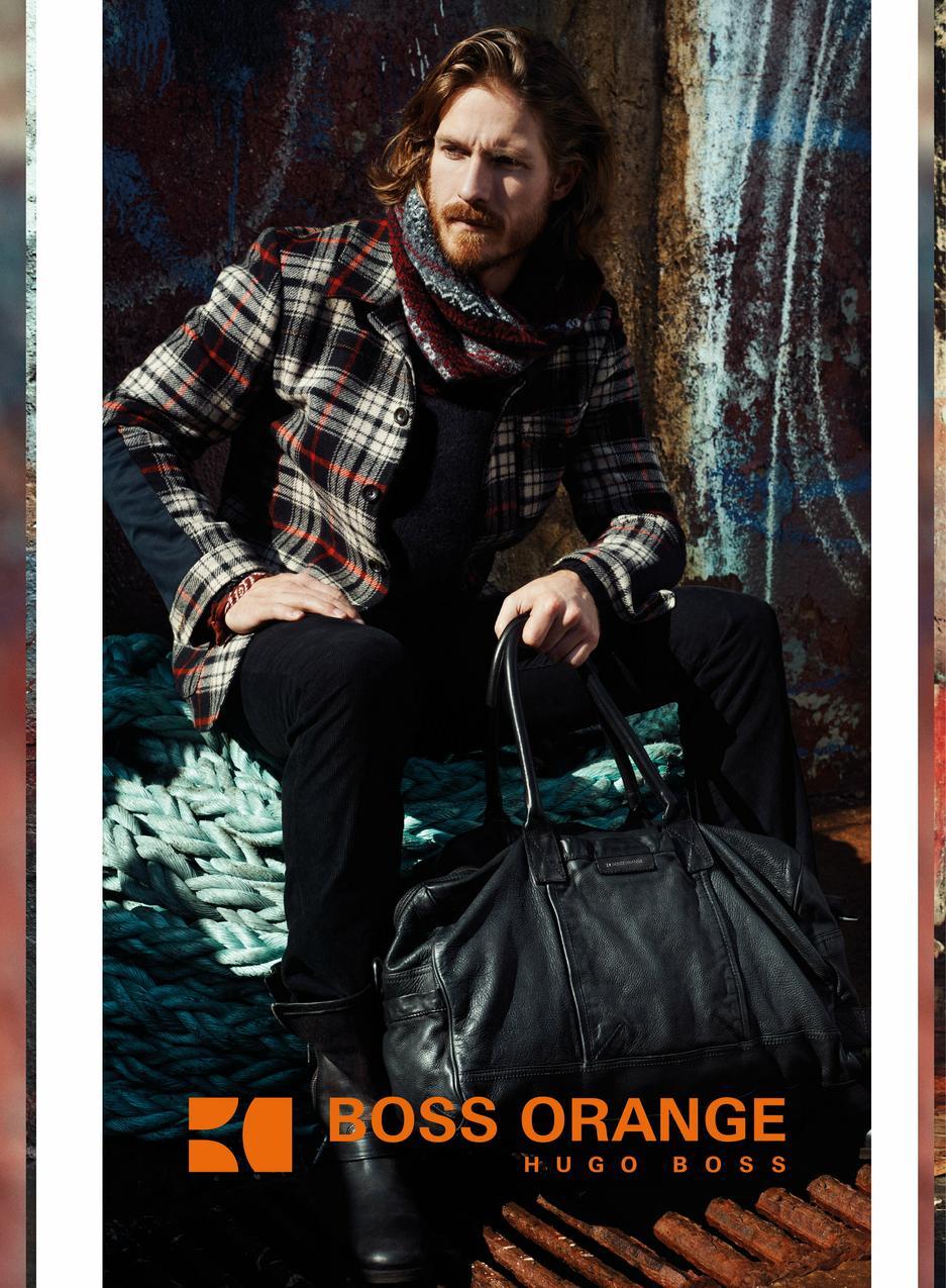 Kampania Hugo Boss Orange