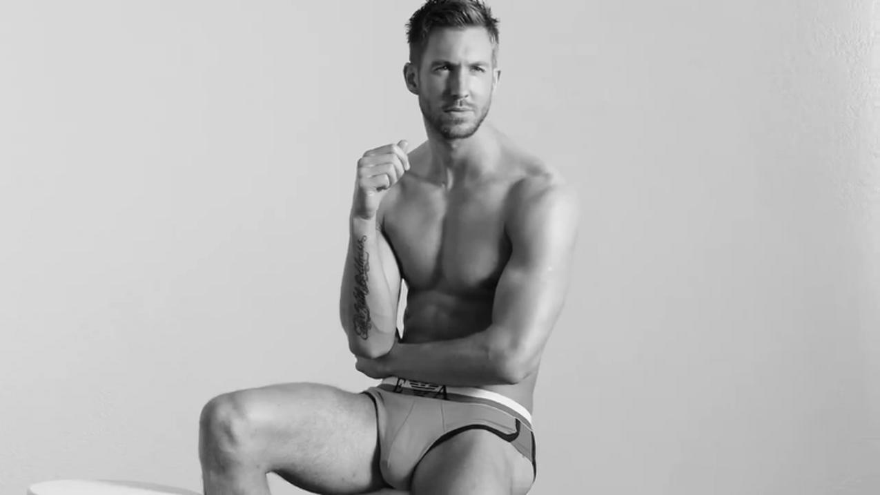 Calvin Harris w reklamie Emporio Armani