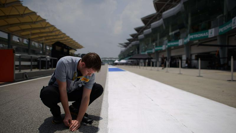 Przygotowania do Grand Prix Malezji