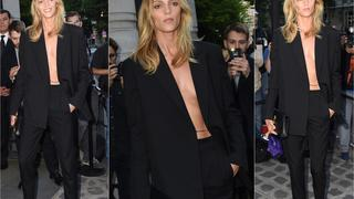 Best Look: Anja Rubik w garniturze Vaccarello dla Yves Saint Laurent