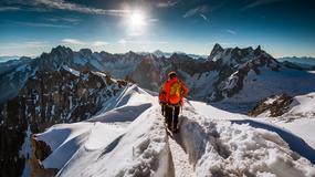 Alpy Francuskie i Aiguille du Midi na pięknych zdjęciach Jakuba Połomskiego