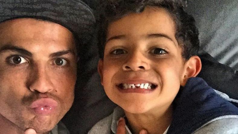 Ronaldo kisfia testvért kaphat/Fotó: Instagram