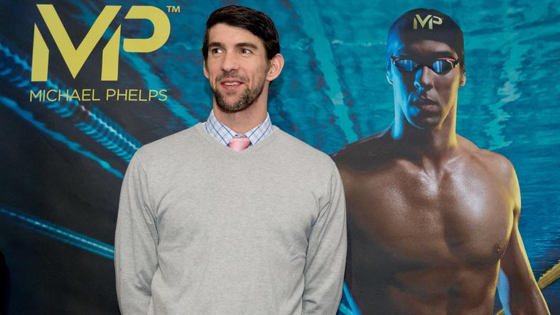 Michael Phelpsnek a felkészülés közben volt ideje reklámfilmet forgatni /Fotó: AFP