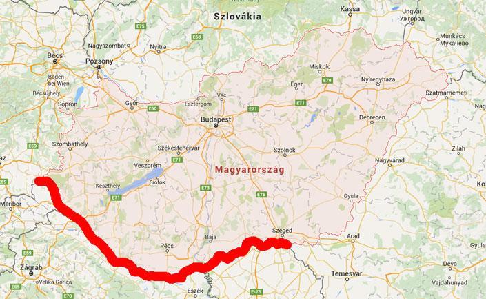 magyarország szlovénia térkép Visszaállítja Magyarország a határellenőrzést!   Blikk.hu magyarország szlovénia térkép