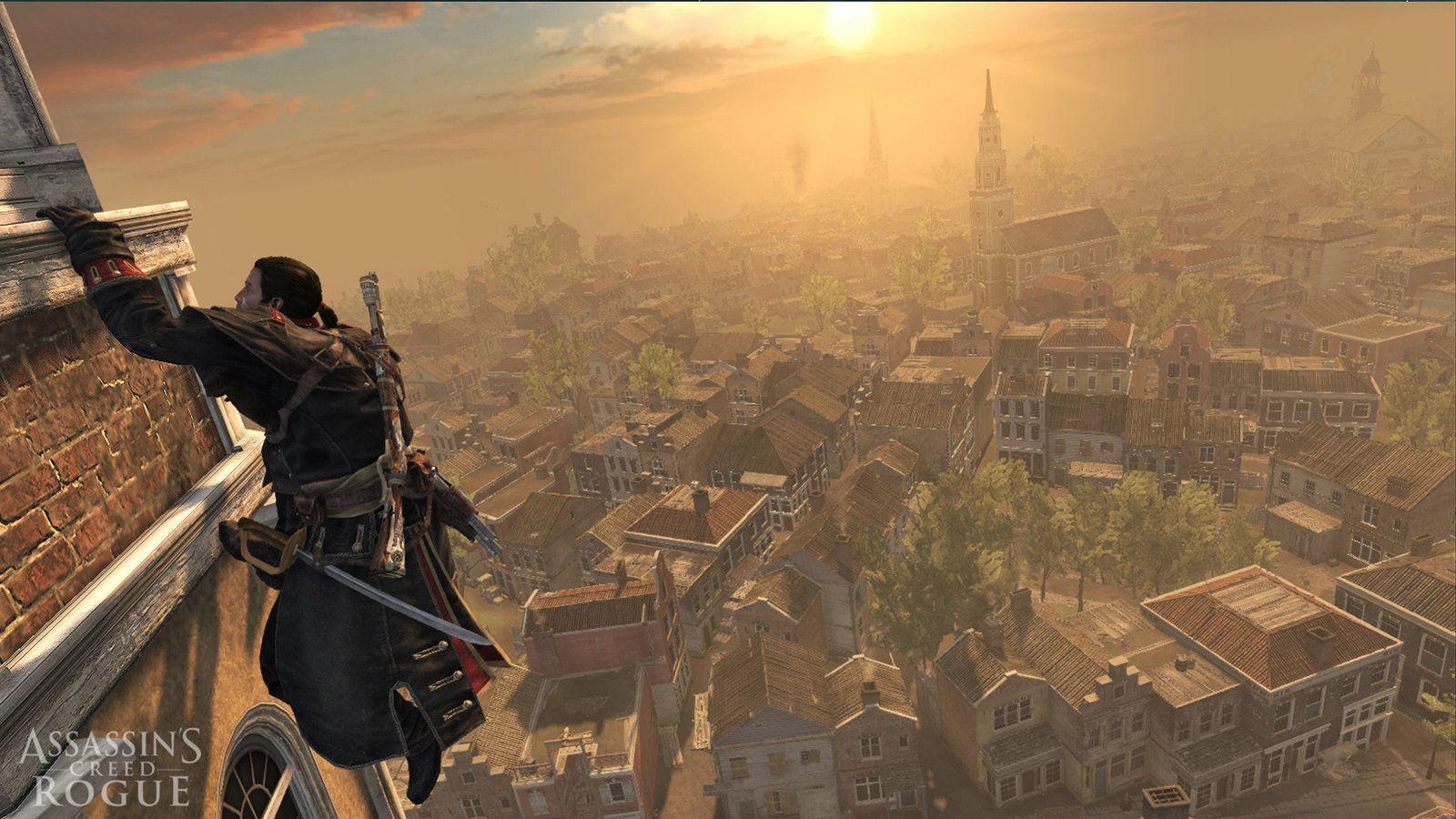 Pohľad na New York zhora (zdroj: Ubisoft)