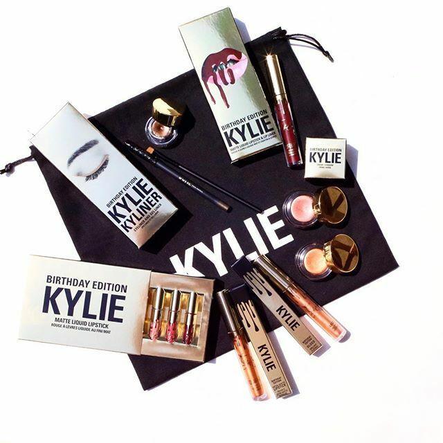 Limitowana, urodzinowa kolekcja Kylie Cosmetics