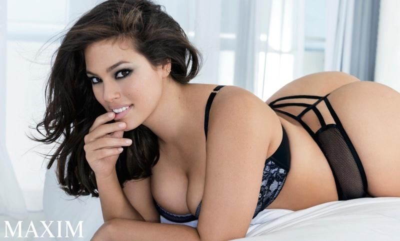 Ashley Graham x Maxim