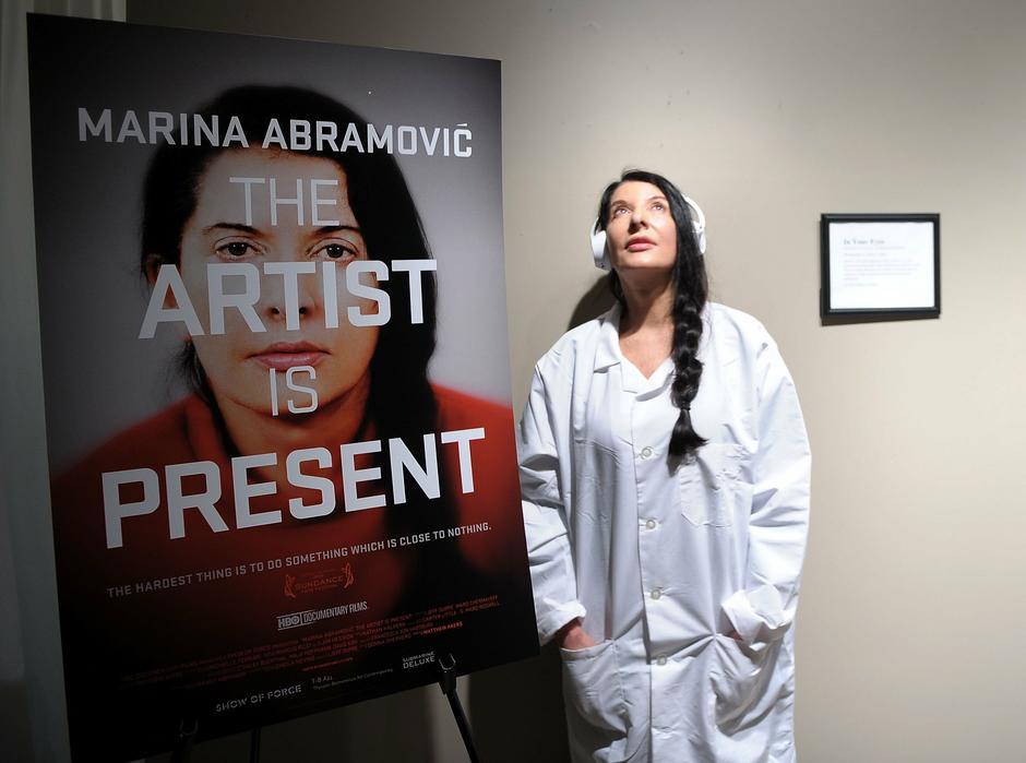 Marina Abramović / Getty Images