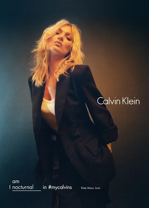 Kate Moss w kampanii Calvin Klein jesień-zima 2016/17