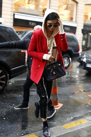 Najlepsze uliczne stylizacje Kendall Jenner