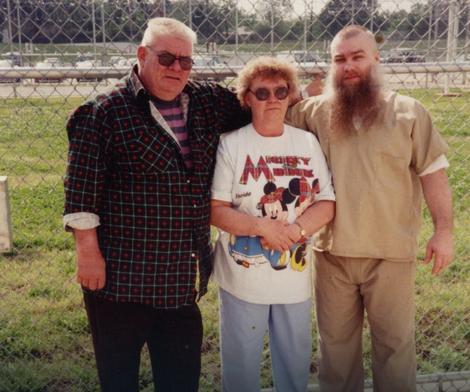 Stiven Ejveri s roditeljima