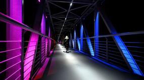 Nowa przeprawa w Warszawie już otwarta. Łączy ścieżki rowerowe nad Wisłą