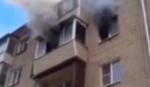 Dramatičan snimak: Požar u zgradi, cela porodica se spasava skokom s 5. sprata