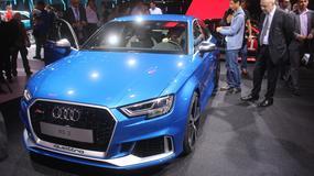 Paryż 2016: Audi RS 3 Limousine ma 400 KM