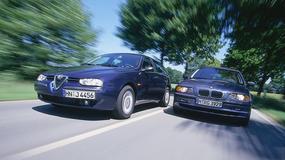 Alfa Romeo 156 2.0 Sportwagon kontra BMW 320i Touring - Kombi z dużymi ambicjami