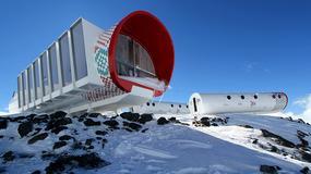 LEAPrus3912 - futurystyczny hotel na Elbrusie, najwyższym szczycie Europy