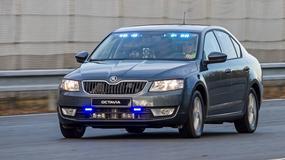 Jak rozpoznać nowe Octavie czeskiej policji?