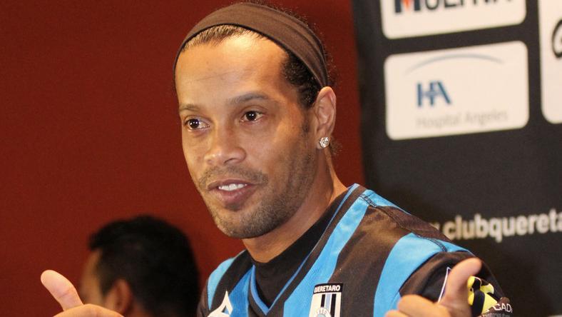 Ronaldinho Floridában villog /Fotó: AFP