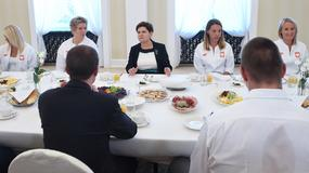 Premier Beata Szydło przyjęła olimpijczyków