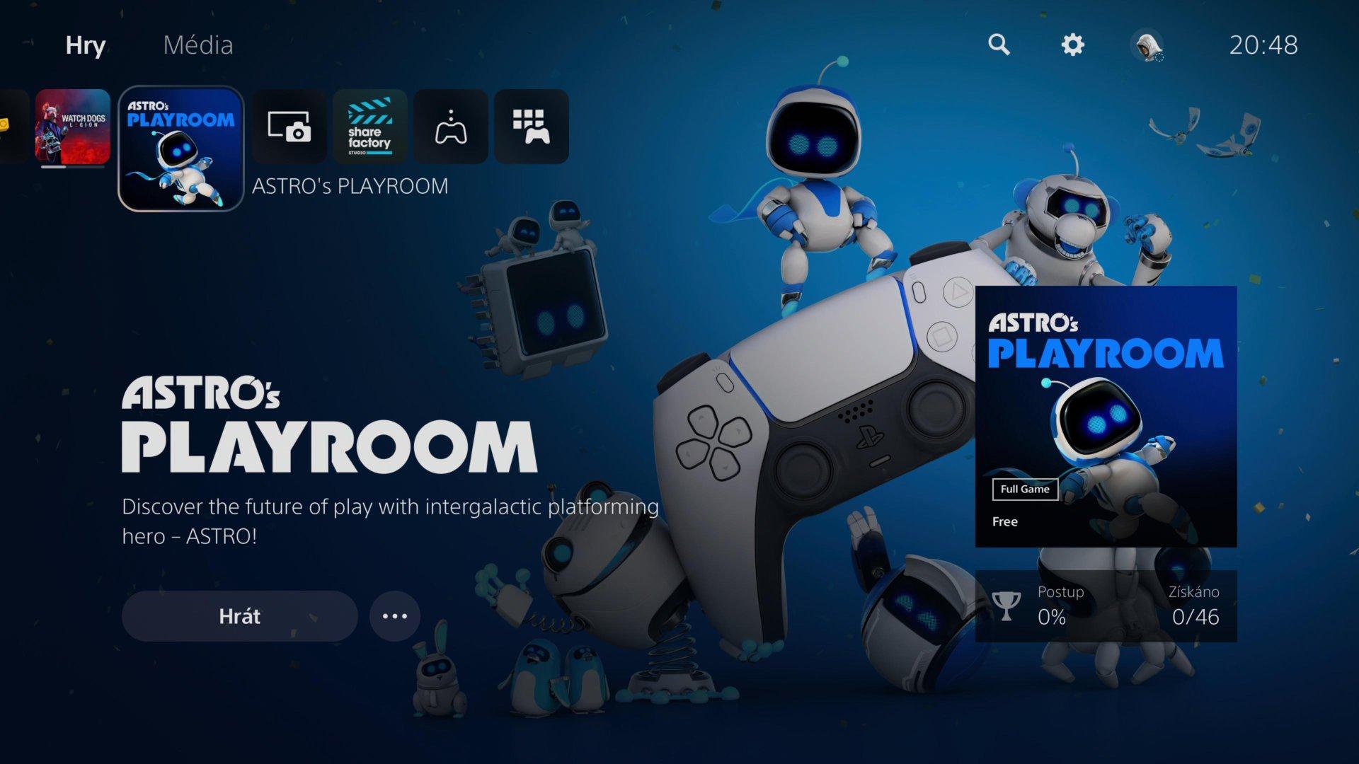Systém v PlayStation 5 ulahodí oku i uchu.