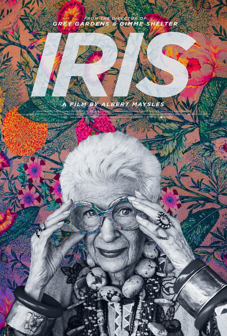 "Plakat filmu ""Iris"""