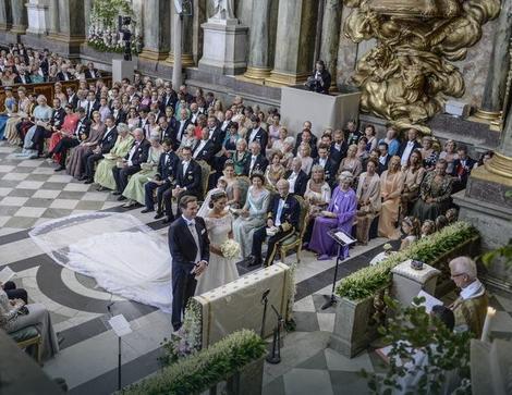 Ceremonija je održana u Stokholmu