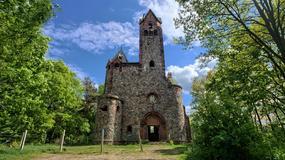 Opuszczony kościół w Pisarzowicach w Wielkopolsce