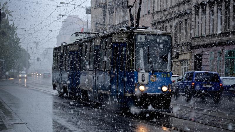 Powrót zimy w maju, fot. PAP/ Grzegorz Hawałej