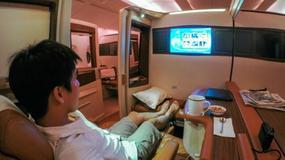 Najbardziej luksusowa podróż samolotem - z Singapuru do Nowego Jorku za 70 tys. zł z Singapore Airlines