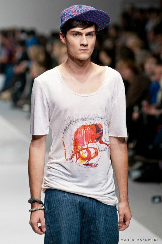 Nadruk na koszulkę dla firmy Polygon / Fot. Marek Makowski