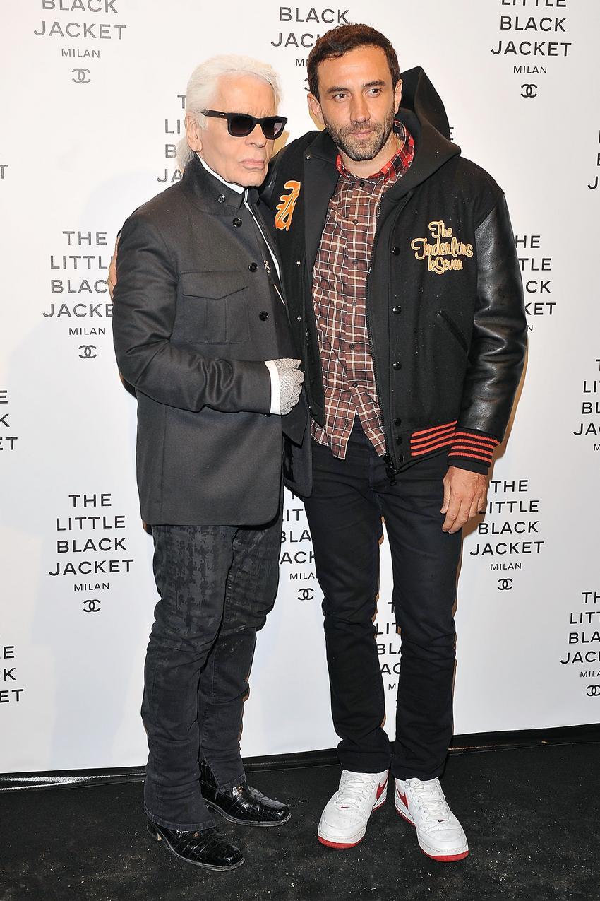Riccardo Tisci i Karl Lagerfeld / Getty Images