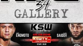 """KSW 34 """"New Order"""": Asłambek Saidow pokonał Yasubey'a Enomoto- zobacz zdjęcia"""