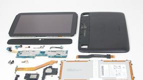 Tablet Google Nexus 10 rozebrany na części