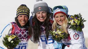 Justyna Kowalczyk na szczycie olimpijskiego podium!