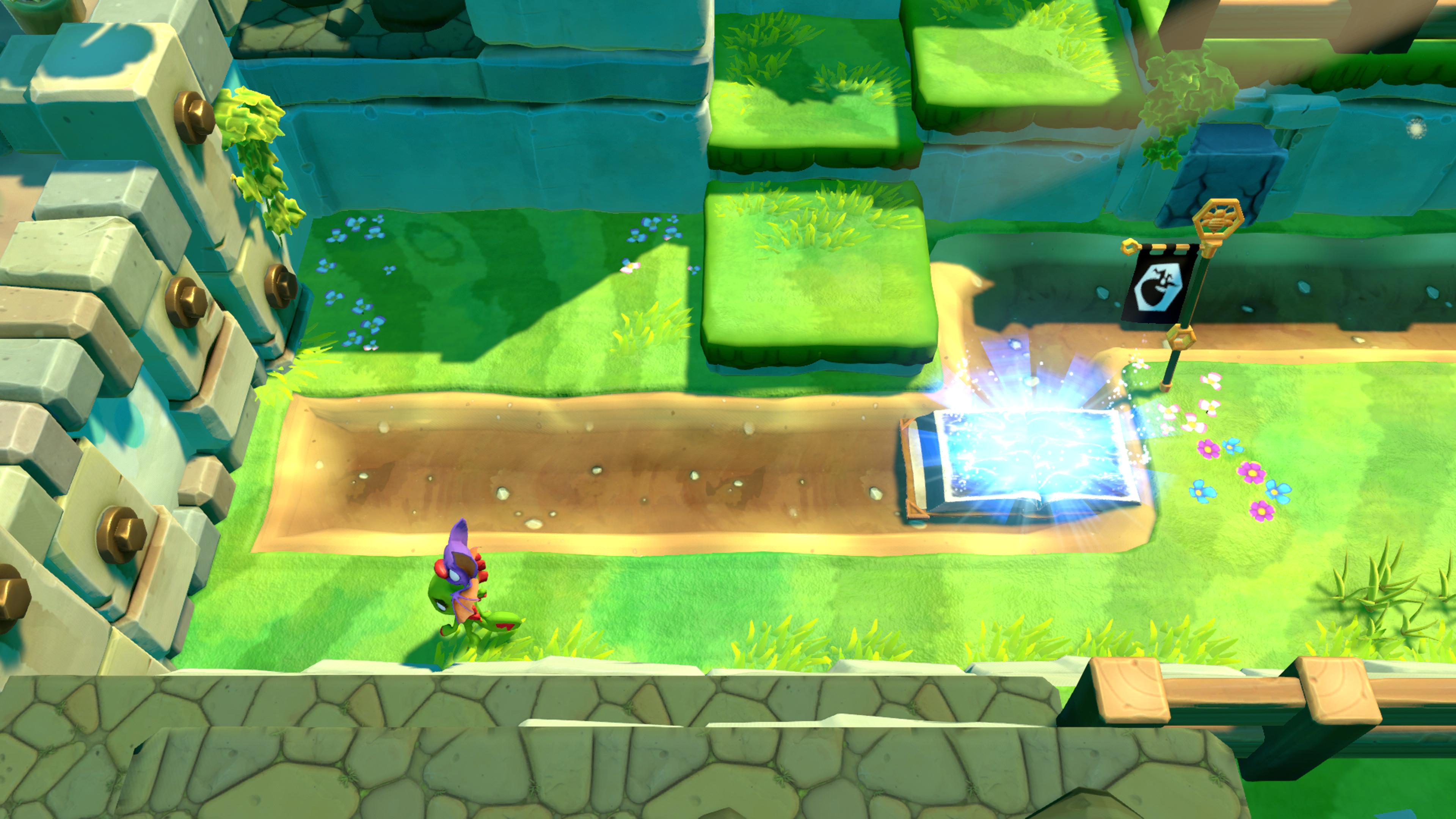 Yooka-Laylee and the Impossible Lair: Sympatická skákačka dostupná v rámci predplatného Game Pass.