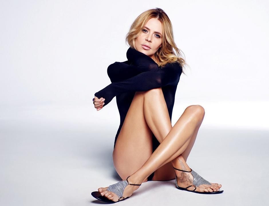 Maja Sablewska w kampanii marki Carinii / materiały prasowe