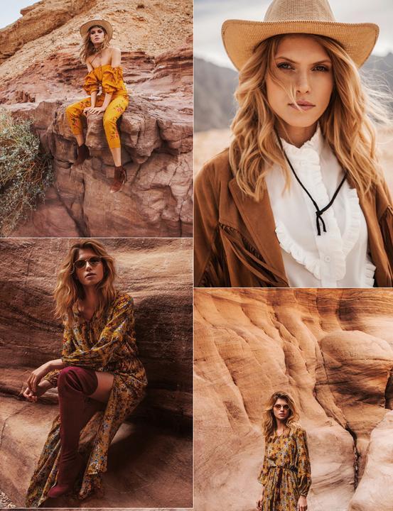 A barna és a sárga különböző árnyalatai jellemzik főként ezt a stílust / Fotó: Answear.hu