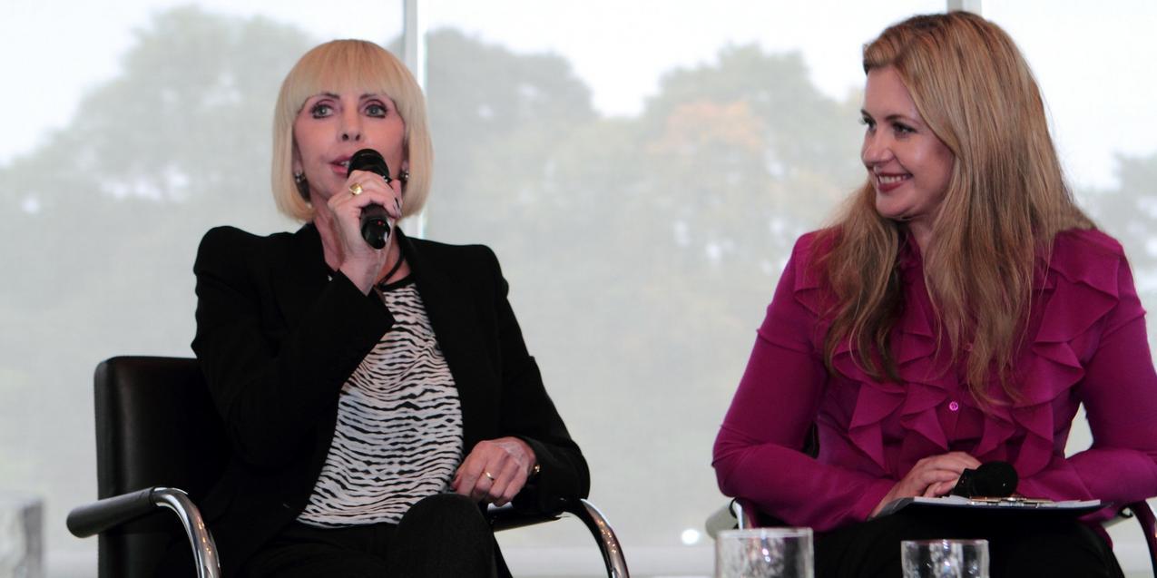 Agnieszka Janicka i Grazyna Kulczyk