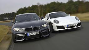 Mistrz driftu kontra król sprintu - BMW M2 vs. Porsche 911