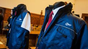 Nowe mundury krakowskich kontrolerów