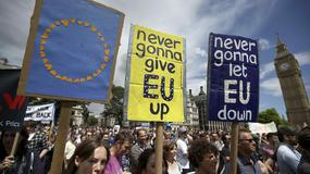 """Protest w Londynie przeciw Brexitowi. """"Europo, kochamy cię"""""""
