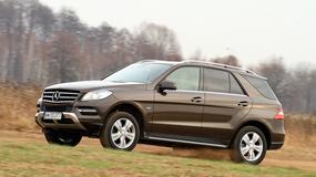 Mercedes ML 350 Bluetec: nie zauważysz, że to diesel!