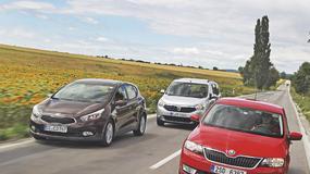 Dacia Lodgy kontra Kia cee'd i Skoda Rapid: rodzinne auta w dobrej cenie