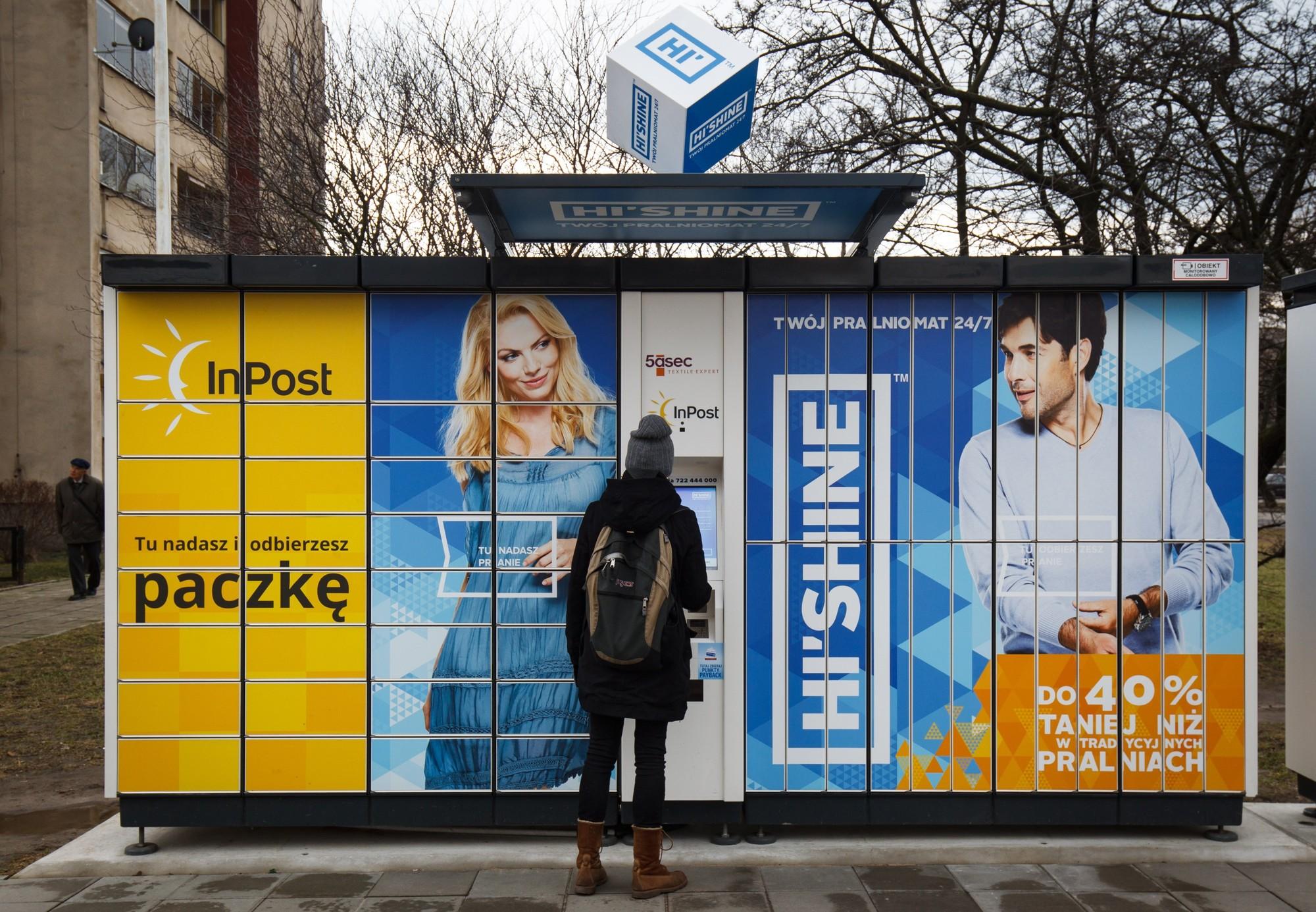 3625260c292547 Paczkomaty - InPost, Poczta Polska